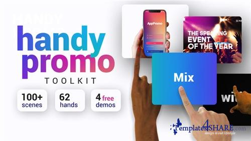 Handy Promo Kit | Touch Stomp Typography & Slideshow Toolkit - After Effects Project (Videohive)