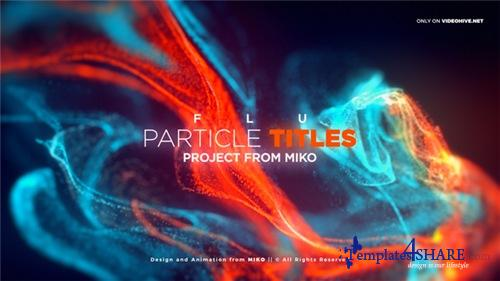 FLU - Particles Titles - After Effects Project (Videohive)