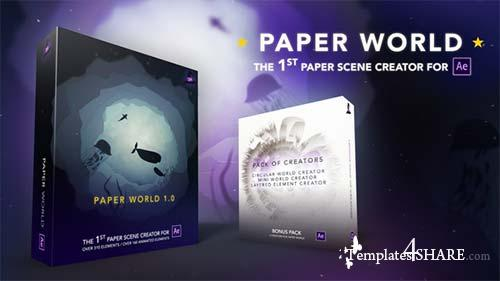 Paper World - After Effects Project (Videohive)
