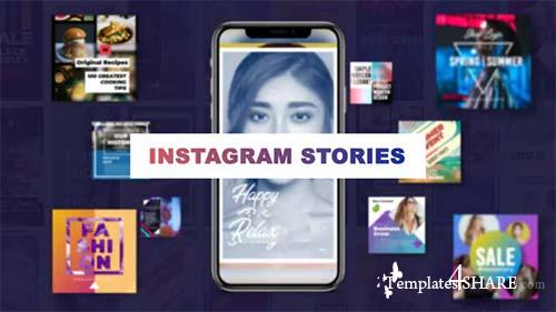 Stylish Insta Stories - After Effects Project (Videohive)