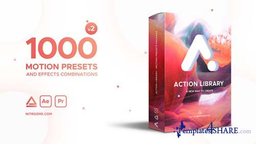 Action Library - Motion Presets Package - After Effects Project (Videohive)