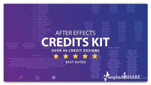 Cinema Film Credits Pack - After Effects Project (Videohive)
