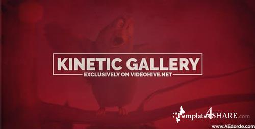 Kinetic Gallery - After Effects Project (Videohive)
