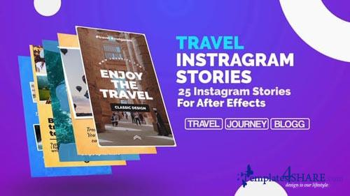 Travel Instagram Stories - After Effects Project (Videohive)