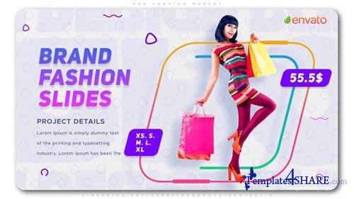 PRO Fashion Market - After Effects Project (Videohive)
