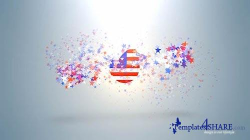 USA Ptriotic Logo - After Effects Project (Videohive)