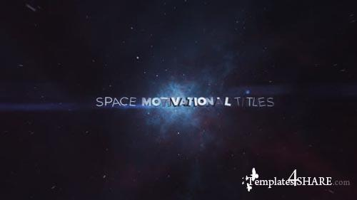 Space Motivational Titles - After Effects Project (Videohive)