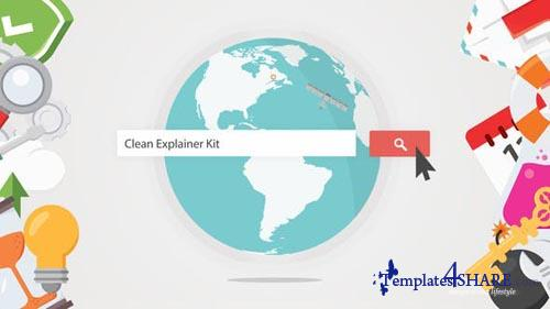 Clean Explainer Kit - After Effects Project (Videohive)