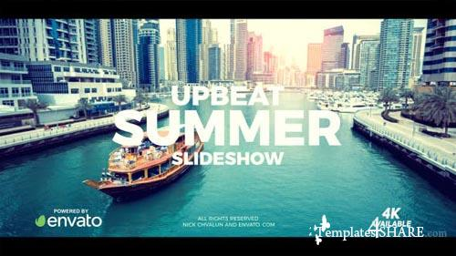Upbeat Summer Slideshow - After Effects Project (Videohive)