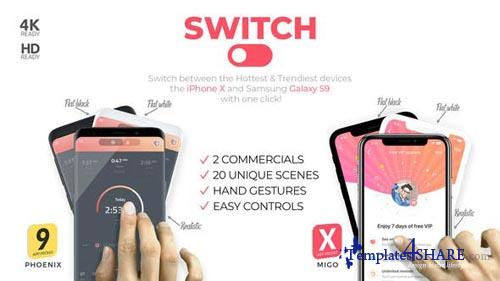 Switch: phoneX & s9 App Promo - After Effects Project (Videohive)