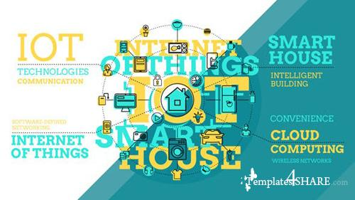 Internet Of Things And Smart Home Infographics - After Effects Project (Videohive)