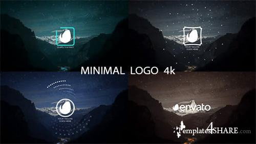 Minimal Logo 4k - After Effects Project (Videohive)