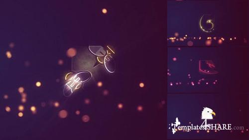 Bouncing Particles Logo Pack - After Effects Project (Videohive)