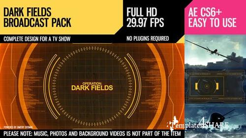 Dark Fields (Broadcast Pack) - After Effects Project (Videohive)