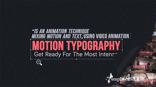 Motion Typography Glitch Titles - After Effects Project (Videohive)