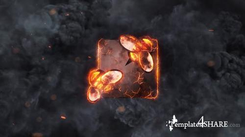 Epic Explosions Logo Reveal - After Effects Project (Videohive)