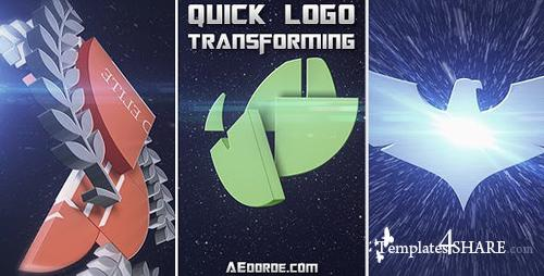 Quick Logo Transforming - After Effects Project (Videohive)