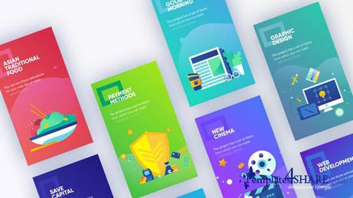 Instagram Marketing Stories - After Effects Project (Videohive)