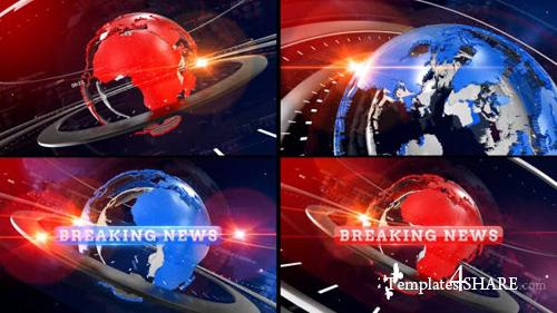 Breaking News Opener - After Effects Project (Videohive)