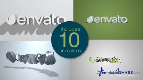 Quick Clean 3D Logo Pack - After Effects Project (Videohive)