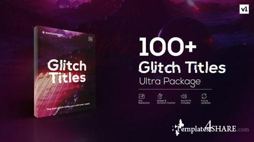 Glitch Titles Pack - After Effects Project (Videohive)