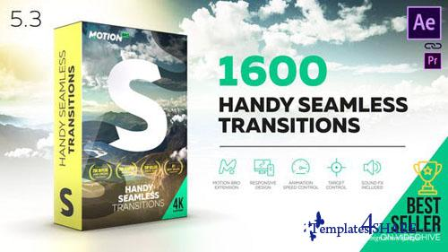 Handy Seamless Transition Pack Script - After Effects Project (Videohive)