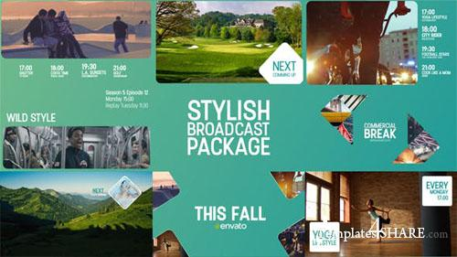 Stylish Broadcast Package - After Effects Project (Videohive)